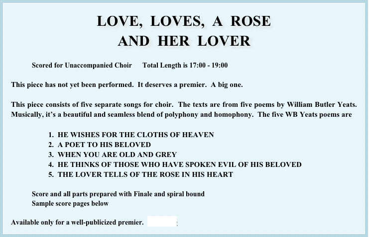 LOVE,  LOVES,  A  ROSE
